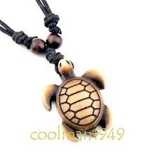 Cute Hawaiian surfing turtle pendant necklace RH159