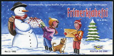 Iceland 760,Complete Booklet of 10,MNH.Christmas.Paintings by B.Asgeirsson,1992