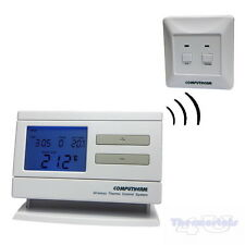 Wireless Programmable Thermostat Quality Room Stat 6 times 7 day Computherm Q7RF