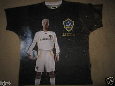 David Beckham LA Los Angeles Galaxy Soccer Shirt M Medium mens