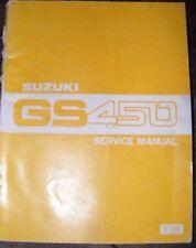 MANUALE DI SERVIZIO SUZUKI gs450 1979