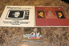FRANK SINATRA  LOT   2 LP'S + Live from Las Vegas [Digipak] CD  SEALED   G685