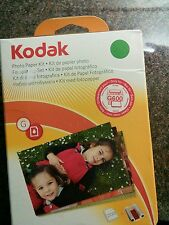 Kodak G200 Color Cartridge & Photo Paper Kit New & Sealed EasyShare G600 & G610