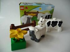 Lego Duplo 4658 Farm Animals  with original box - some paint wear on cow