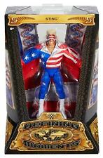 DEFINING MOMENTS STING (RED WHITE BLUE) WWE MATTEL ACTION FIGURE TOY - MINT