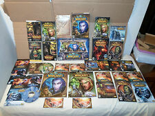 HUGE Lot ! World of WarCraft PC/MAC Book/Manual/Box/Map Cataclysm/Reign of Chaos