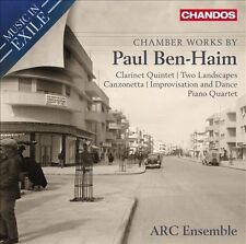 Music in Exile: Chamber Works By Ben-Haim, New Music