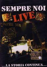 Sempre Noi Live DVD Nuovo Sigillato Nomadi In Concerto