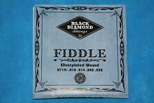 Black Diamond Silverplated Wound Fiddle Strings, N719