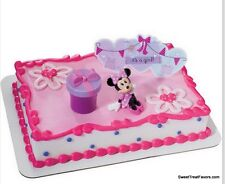 Minnie Mouse Cake Topper Decoration Supplies Birthday It's a Girl  Baby Shower *
