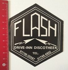 Aufkleber/Sticker: Flash - Drive-Inn Discotheek (10061697)