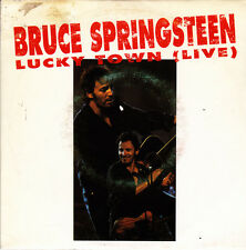 "BRUCE SPRINGSTEEN-LUCKY TOWN SINGLE 7"" VINYL 1993 PROMOCIONAL SPAIN"