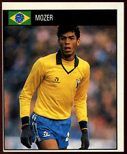 Mozer Brazil #88 Orbis World Cup Football 1990 Sticker (C234)