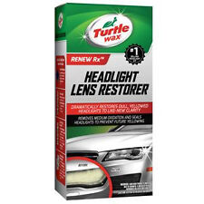 TURTLE WAX T240KT Headlight Lens Restorer CLEANER - FULL KIT
