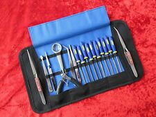 Craft Model Hobby Tool Kit For Airfix Other Plastic Modellers Roll Up Case SET 4