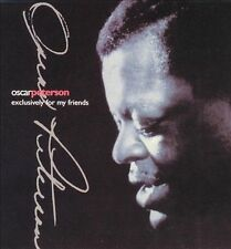 OSCAR PETERSON Exclusively for My Friends 4 CD Box Set 1992 CDs Jazz Piano Music