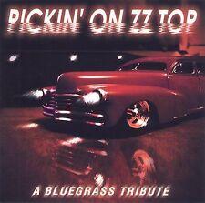 PICKIN' ON ZZ TOP: A BLUGRASS TRIBUTE CD! LA GRANGE ~ SHARP DRESSED MAN! NR-MINT