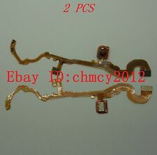 2pcs LENS Shutter Flex Cable For CANON Powershot S2IS S3IS S5IS S2 S3 S5
