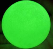 80MM+SAND Glow White Jade Stone Glow green In The Dark Stone Ball Healing