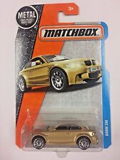 Matchbox MBX Adventure City New Gold 2016 BMW 1M (T02)