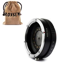 Canon EOS EF mount lens To Fujifilm X-Pro1 E1 T1 FX Adapter with aperture ring