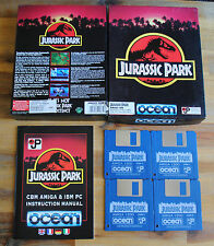 Jeu JURASSIC PARK version disc (Disk) pour PC AMIGA
