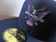 DIPSET x NEW ERA 59FIFTY Diplomats Fitted Cap 7 1/2 navy blue red white yankees
