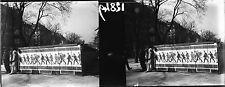 Murs PARIS c. 1910-20 - Stéréo Verre Affiche Plaques Photos As de Trèfle - 12849