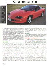 1994 Camaro Z28 Article + VIN Decode - Must See !!