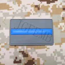 The thin Blue line Police SWAT 3D PVC Patch