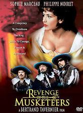 Revenge of the Musketeers (DVD, 2004) OOP MINT  Sophie Marceau  NOT A RENTAL
