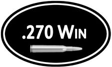 """.270 Ammo Box Decal ** 2 PACK ** 5""""x3"""" Can 270 Cal Rifle Vinyl Sticker DC927"""