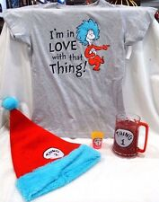 UNIVERSAL STUDIOS THE CAT AND THE HAT (THING 1&2) T-SHIRT, SANTA HAT, MUG & MORE