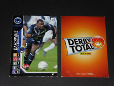DARCHEVILLE GIRONDINS BORDEAUX LESCURE PANINI FOOTBALL CARD 2004-2005
