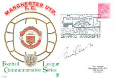 Bobby CHARLTON Signed Autograph Manchester United First Day Cover FDC COA AFTAL