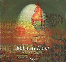 """808 STATE bond/chisler/bonded SAM 1820 promo uk ztt 1996 12"""" PS EX/EX"""