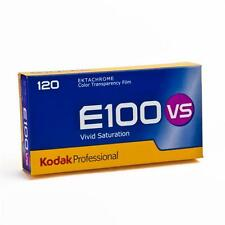 5 x Kodak E100 VS EKTACHROME colour reversal film vivid saturation roll film