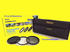 Filter Kit 62mm ND8 UV CPL To SONY 18-200 18-135 70-300 16-105 mm F3.5-5.6 A700
