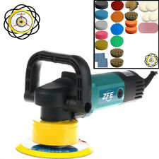 New 230V 900W Dual Action Machine Car Polisher Polishing Pad /Sander /Buffer Set