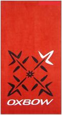 EXTRA LARGE 100CMx170CM POOL BEACH TOWEL OXBOW RED 100% COTTON VELOUR TOWELS