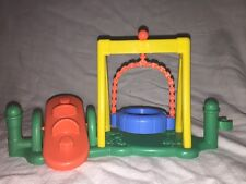 Fisher Price Little People Fence Preschool playground see saw teeter tire swing