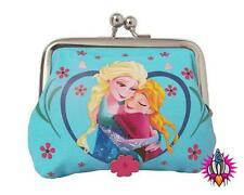 DISNEY FROZEN ELSA AND ANA COIN CLIP WALLET CLASP PURSE NEW WITH TAGS