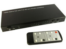 Gc1324 4 x 2 HDMI Matrix switch con 3D & 4K X 2K