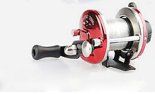 New Right Handed-Round Big-Game Fishing Reel Saltwater Trolling Reels With-Line