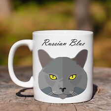 Tazza RUSSIAN BLUE GATTO CAT MUG