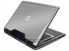 SILVER GRAY Vinyl Lid Skin Cover Decal fits Dell Precision M90 M6300 Laptop