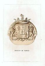 Araldica stemma araldico della famiglia Diaceto di Napoli
