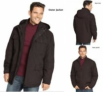 NWT-$280 Hawke & Co 3-in-1 ~MEDIUM~ Winter Coat Jacket Hooded Waterproof Snow