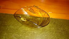 Art Deco Amber Glass Bowl-Possibly Germany