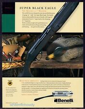 2003 BENELLI Super Black Eagle SHOTGUN Print AD Collectible Advertising
